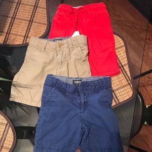 Toddler boy Oshkosh khaki shirt bundle size 3t